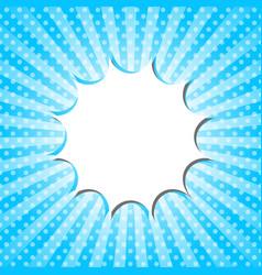 pop art template vector image vector image