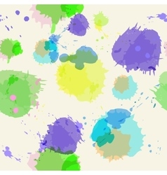 Seamless background with imitation watercolor vector