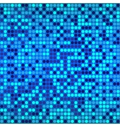 Disco blue background vector