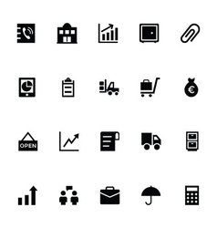 Trading icons 4 vector