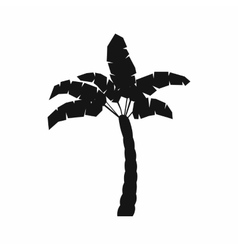 Palm tree icon simple style vector