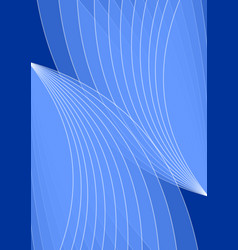dark blue background with light blue abstract vector image vector image