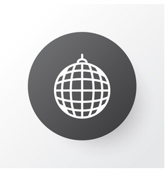 disco ball icon symbol premium quality isolated vector image vector image