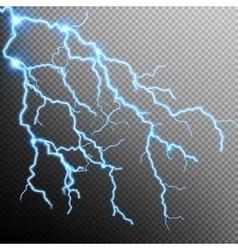 Electric Storm - lightning bolt EPS 10 vector image vector image