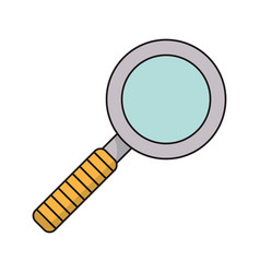 Search mind innovation icon vector