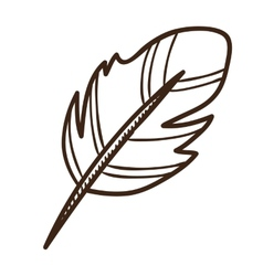 Writing quill vector