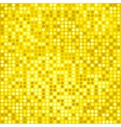 Disco gold background vector
