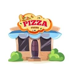 Pizzeria restaurant vector