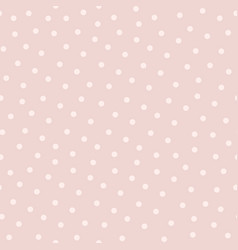 Polka dot seamless pattern in popular colors vector