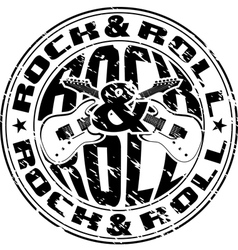 rnr stamp vector image