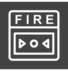 Fire alarm vector