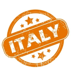Italy grunge icon vector