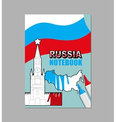 Russia notes russian covers for notebooks national vector