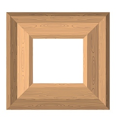 Empty wide frame pictures of boards Wood texture vector image vector image