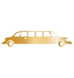 Limousine luxury vehicle vector