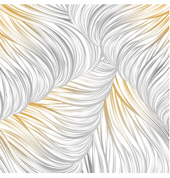 Lined gray gold abstract pattern seamless lined vector