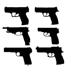 Pistols vector
