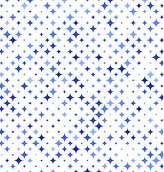 Blue star pattern background - vector