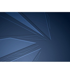 Abstract crystal folder concept background vector