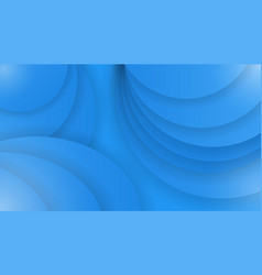 abstract background of blue color curved lines vector image