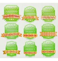 badge design set vector image vector image