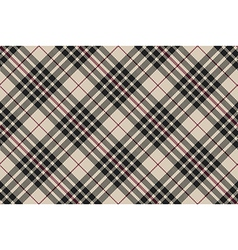 Blackberry tartan diagonal plaid seamless vector image vector image