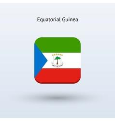 Equatorial guinea flag icon vector