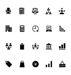 Trading Icons 5 vector image