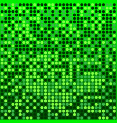 Disco green background vector