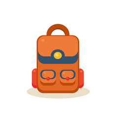 Backpack education design vector