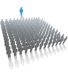 leader speaker vector image