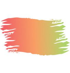 Brush ink color painted watercolor splotch vector