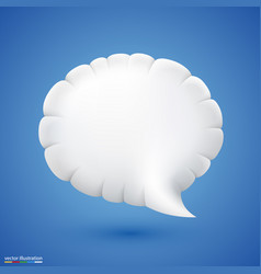 chat cloud vector image