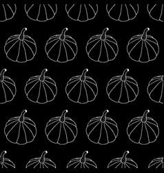 Monochrome halloween pattern vector
