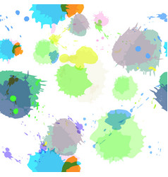 Seamless background with imitation watercolor vector image