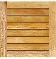 Wood plank brown texture background  EPS8 vector image