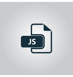 Js file extension vector