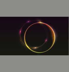Abstract ring background vector