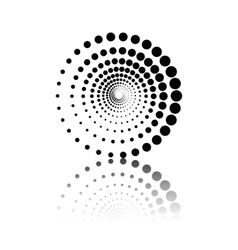 Abstract technology circles element vector image