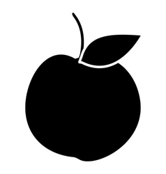 Apple icon simple style vector image vector image