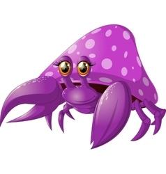 Bright crab pokemon vector