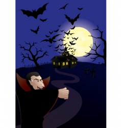hunted house vector image vector image