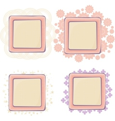 Various of frames vector