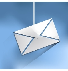 Mail web icon vector