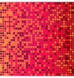 Disco red background vector