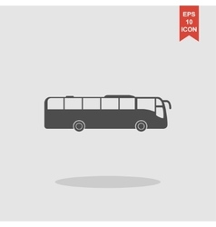 Bus icon concept for design vector
