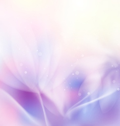 Abstract colorful floral flow background vector