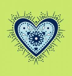 heart splendor vector image vector image