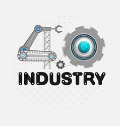 Industry 40 vector