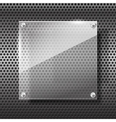 Chrome black and grey background texture 003 vector image